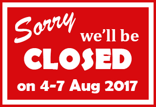 Jul closed notice